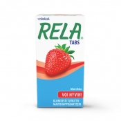 Rela Tabs Strawberry purutabletti