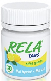 Rela Tabs Mild Lemon purutabletti