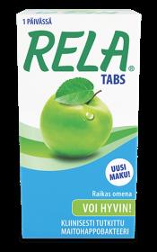 Rela Tabs raikas Omena 90 purutablettia