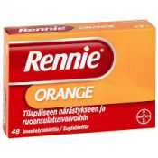 Rennie Orange imeskelytabletti 48 fol