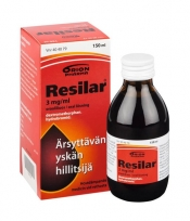 Resilar 3 mg/ml oraaliliuos 150ml