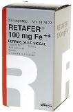 Retafer 100 mg Fe++ depottabletti 300
