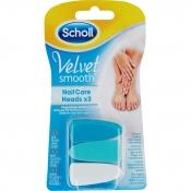 Scholl Velvet Smooth vaihtoviilat 3 kpl