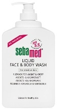 Sebamed Liquid Face & Body Wash 300 ml pumppupullo