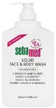 Sebamed Liquid Face & Body Wash 300 ml pumppupullo