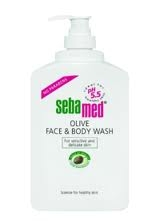 Sebamed Olive Face & Body Wash 300 ml pumppupullo