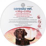 SERESTO vet. 4,50 g/2,03 g panta koirille yli 8 kg