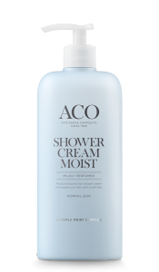 Aco Shower Cream Moist 400 ml kevyesti hajustettu