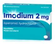 Imodium 2 mg tabletti, kalvopäällysteinen 16 läpipainopakkaus