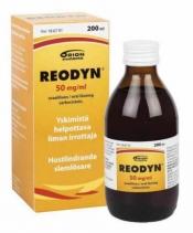 Reodyn 50 mg/ml oraaliliuos 200ml