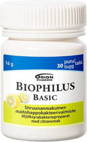 LÖYTÖ: Biophilus Basic sitruuna 30 purutabl.