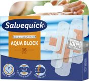 Salvequick Aqua Block laastari 16 kpl