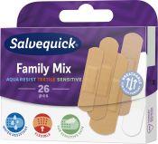 Salvequick Family Mix laastari 26 kpl