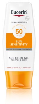 Eucerin Sun Sensitivity Cream Gel Face&Body SPF50 150ml