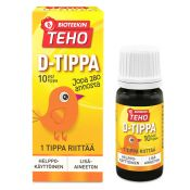 Bioteekin Teho D-tippa 8 ml