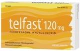 Telfast 120 mg tabletti, kalvopäällysteinen 10 läpipainopakkaus