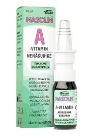 Nasolin A-vitamin nenäsuihke timjami-eukalyptus 10ml