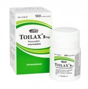 Toilax 5 mg enterotabletti 100
