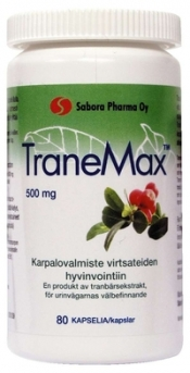 TraneMax 500 mg 80 kaps
