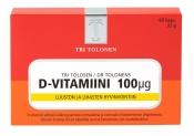 Tri Tolosen D-vitamiini 100 µg 60 kaps.