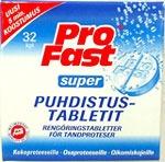 Pro Fast Super Puhdistustabletit 32 kpl