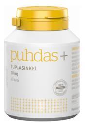 Puhdas+ Tuplasinkki 30 mg  60 vegekaps