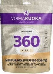 Voimaruoka 360 Wholefood vanilja 908 g