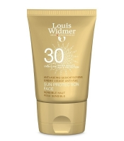 Louis Widmer Sun Protection Face - hajusteeton aurinkosuojavoide kasvoille SPF 30  50 ml